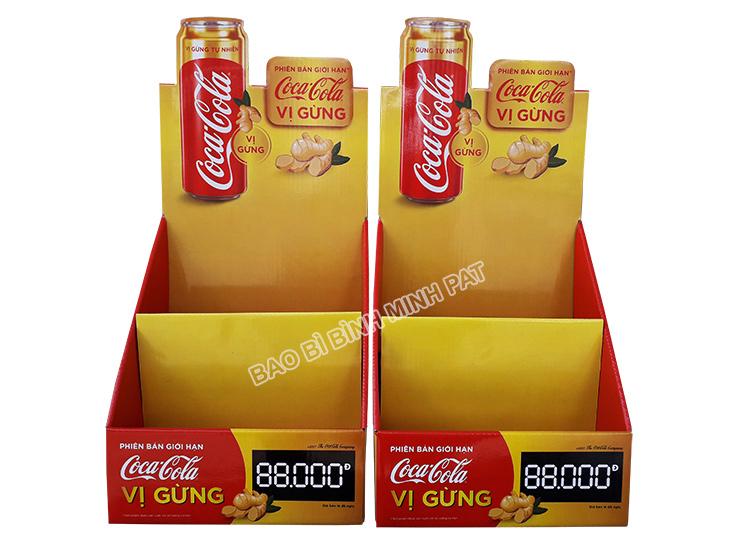Kệ giấy trưng bày Coca Cola - hinh 3