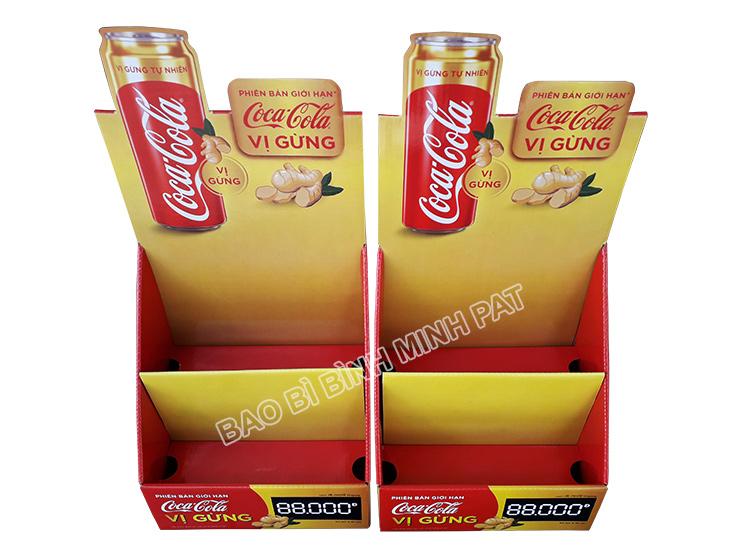 Kệ giấy trưng bày Coca Cola - hinh 4