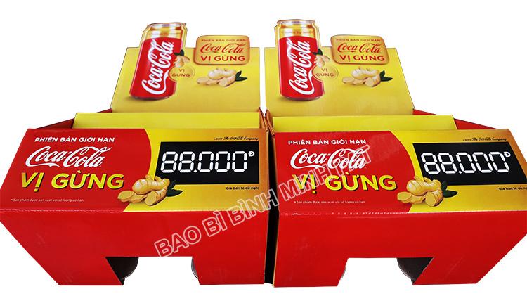 Kệ giấy trưng bày Coca Cola - hinh 5