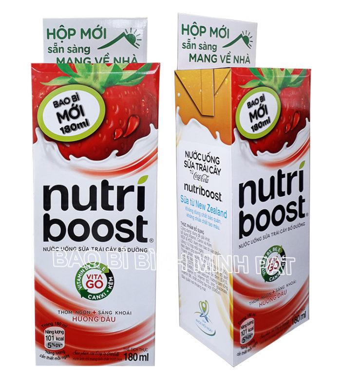 thùng trưng bày sữa nutri
