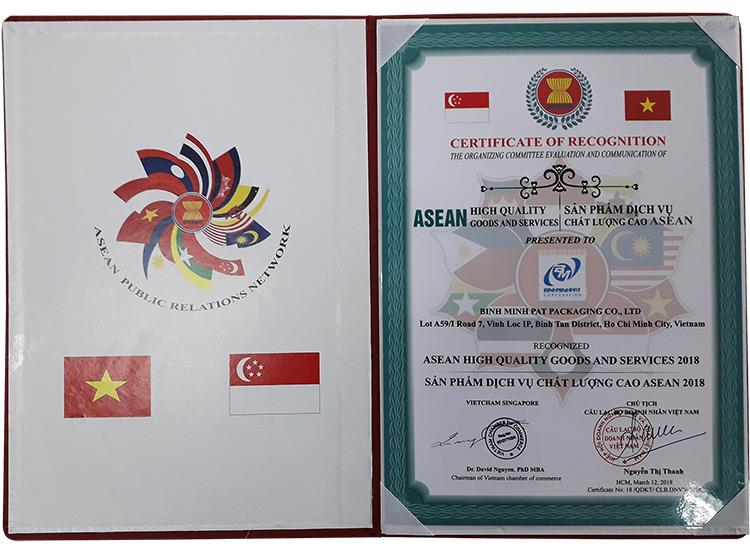 Giấy chứng nhận, giải thưởng của Cty Bao Bì Bình Minh - hinh 2
