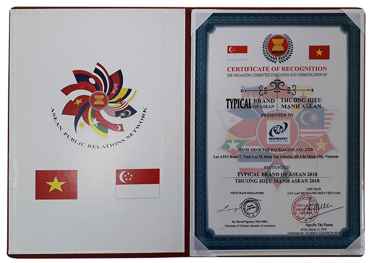 Giấy chứng nhận, giải thưởng của Cty Bao Bì Bình Minh - hinh 3