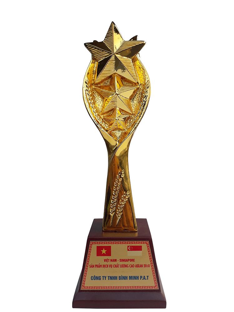 Giấy chứng nhận, giải thưởng của Cty Bao Bì Bình Minh - hinh 4