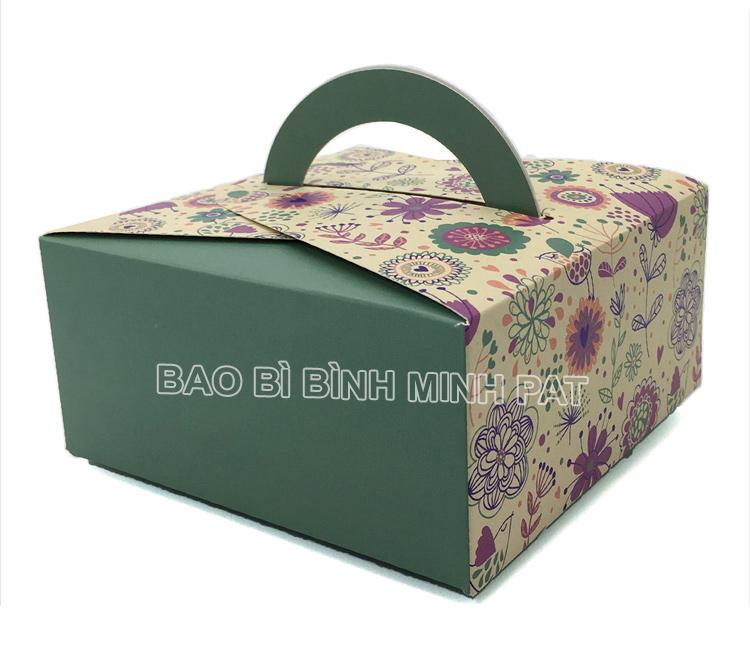 Mẫu hộp giấy đựng bánh kem BMP-BOX27818 - hinh 1