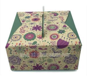 Mẫu hộp giấy đựng bánh kem BMP-BOX27818 - hinh 2