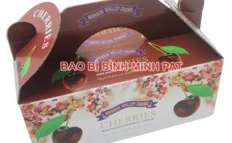 In hộp giấy đựng quả Cherries nhập khẩu - hinh 1