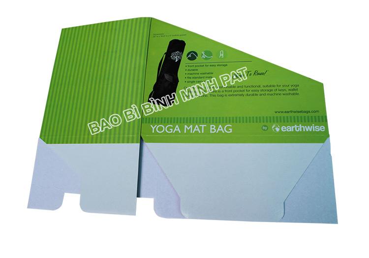 Khay giấy trưng bày dụng cụ tập YOGA - hinh 2