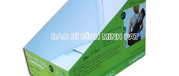 Khay giấy trưng bày dụng cụ tập YOGA - hinh 4