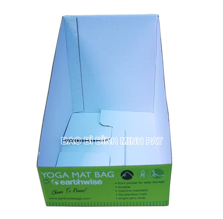 Khay giấy trưng bày dụng cụ tập YOGA - hinh 5
