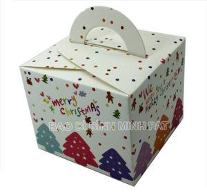 in hộp giấy đựng bánh kem mùa Noel - hinh 2