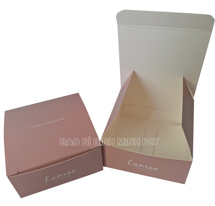 In hộp giấy mỹ phẩm – Lamae