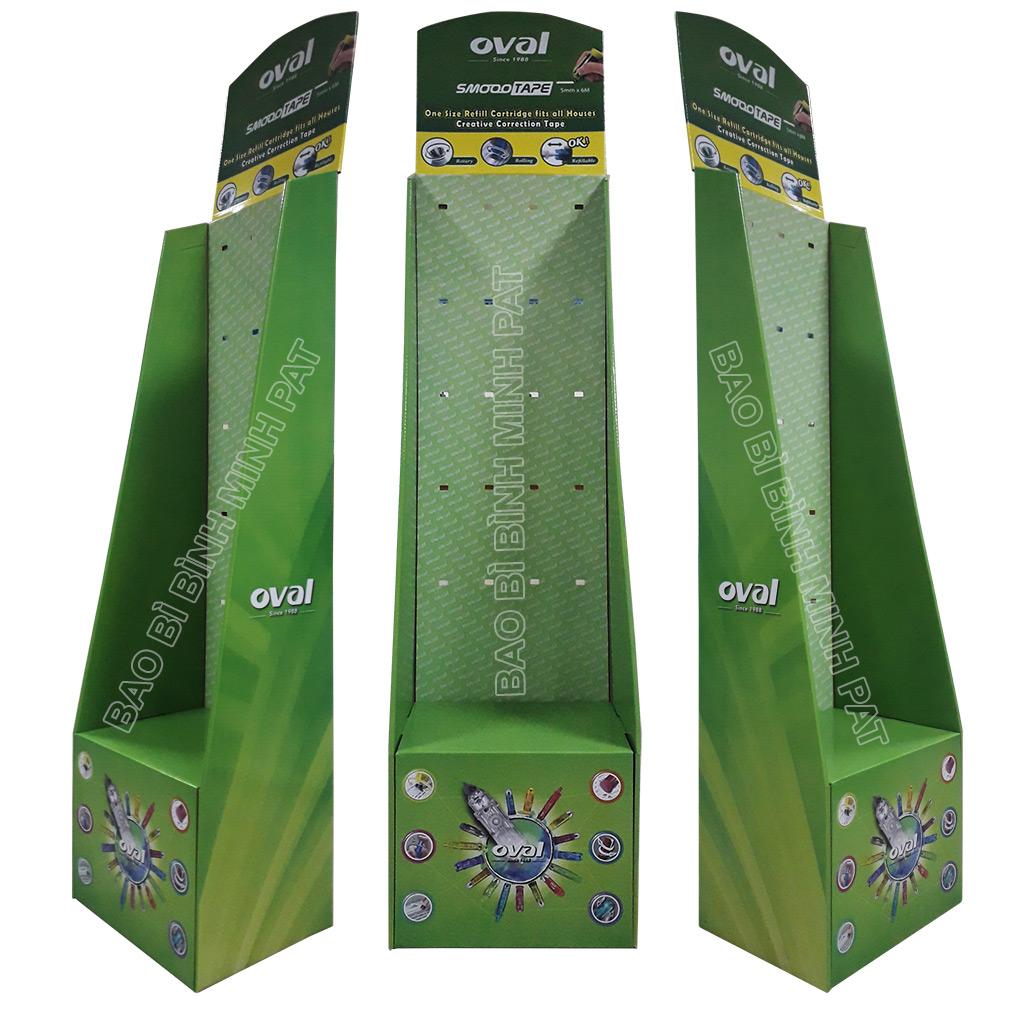 Kệ giấy trưng bày sản phẩm oval - hinh 3